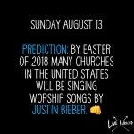 Justin Bieber as Worship Leader?!?!